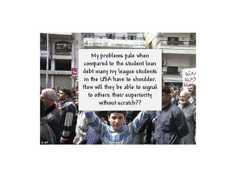 OWS syrian boy