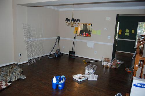 Livingroom before shot